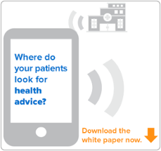 Where do your patients look for health advice?